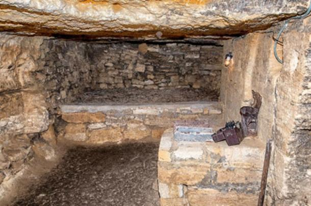 Catacombs below Odessa, Ukraine. (Artem Merzlenko /Adobe Stock)