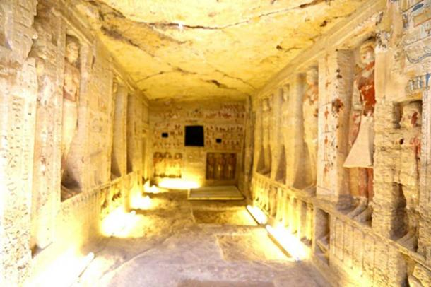 Catacombs. (Egyptian Ministry of Antiquities)