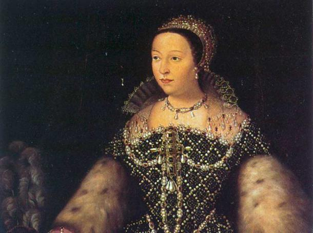 Catherine de' Medici as queen of France.
