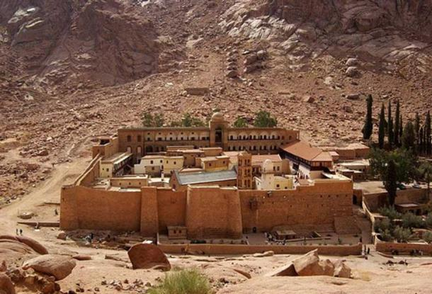 St. Catherine's Monastery, Sinai Peninsula, Egypt.
