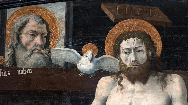 The Catholic Trinity, circa 1450, France.
