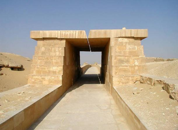 Causeway of the Pyramid of Unas