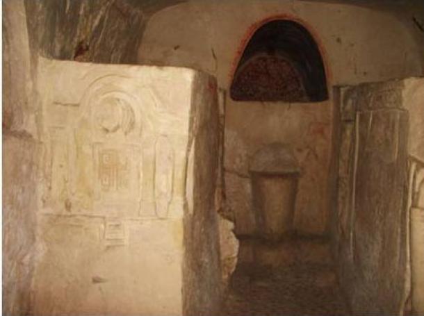 Cave of the Torah Ark at Beit She'arim