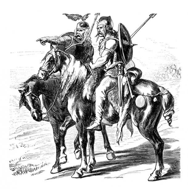 Celtic Horsemen. (Erica Guilane-Nachez / Adobe)