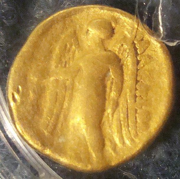 Celtic coin of the 3rd century BC from Trepcza.