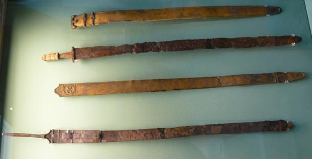Celtic swords 120 BC to 43 AD. (Völkerwanderer / Public Domain)