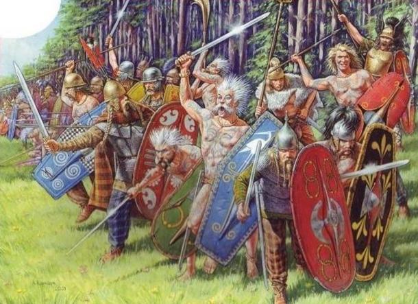 Celtic warriors.