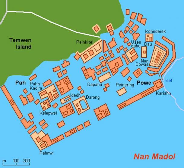 Central Nan Madol.