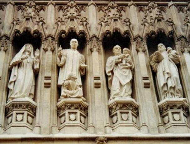 From the Gallery of 20th Century Martyrs at Westminster Abbey—l.