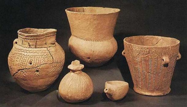 Ceramic beakers of the Beaker Culture