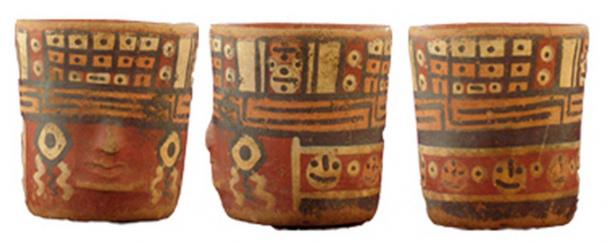 Ceramics at Tenahaha are decorated with smiling faces, while pottery found in other parts of Peru tends to be grimmer with images of trophy skulls and fanged teeth.