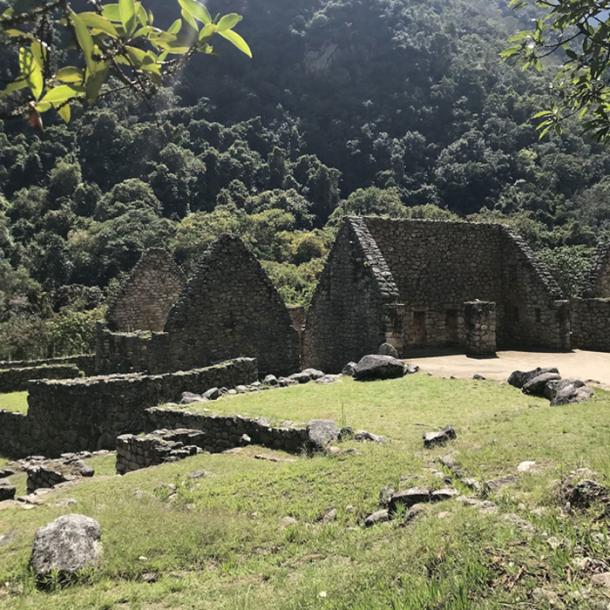 Ceremonial stone complex at Chachabamba. (Dominika Sieczkowska, PAP)