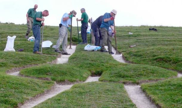 Cerne Abbas Giant Renovation