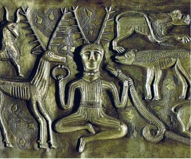 Cernunnos, a nature god of the Celts.