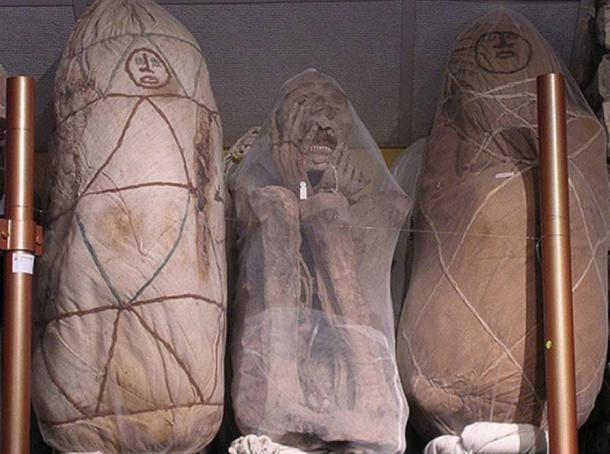 Chachapoya mummies.