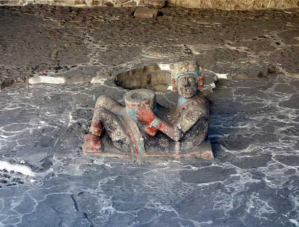 Chacmool, Tlaloc Temple platform, Templo Mayor.