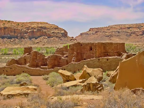 Chaco Canyon has a similar climate to that of the Kalahari Desert. (Jsweida / CC BY-SA 3.0)