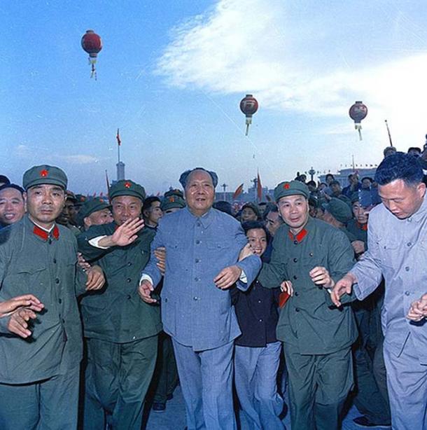 Chairman Mao Zedong, 1966.