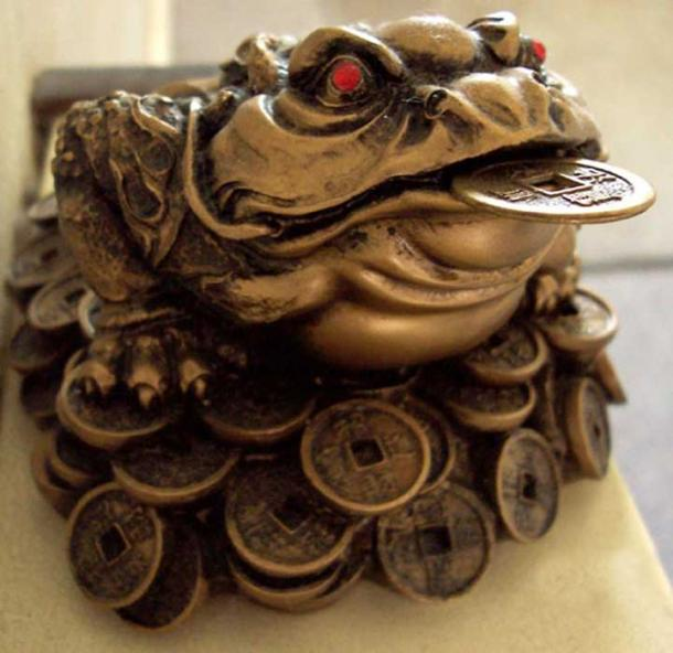 Ch'an Chu: The Chinese money frog.
