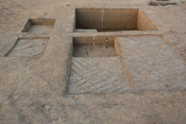 Excavation site from the late Indus Valley civilization period in a village called Chandayan, in the northern Indian state of Uttar Pradesh.