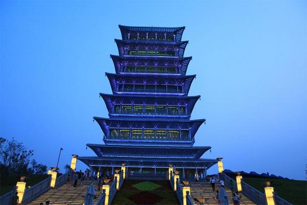 The Chang'an Tower. (Jucember / CC BY-SA 3.0)