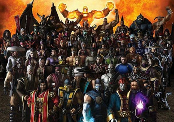 Characters from Mortal Kombat: Armageddon. (Fair Use)
