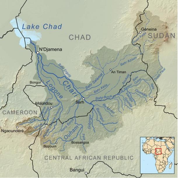 The Chari River.