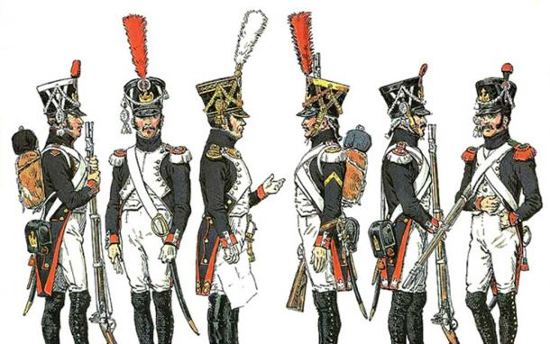 Chauvin was a derivative of Calvinus, a common surname among the soldiers of Napoleon's Grande Armée, the birthplace of chauvinism. (Public Domain)