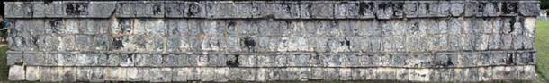 Chichén Itzá Tzompantli