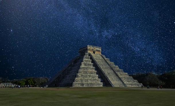 It is believed the Venus calendar was developed at Chich'en Itza, pictured