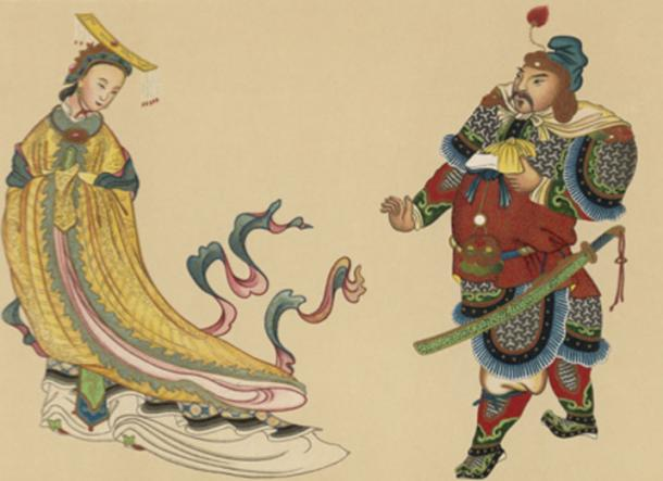 Chinese Empress Wu Zetian, from concubine to one of China's most powerful rulers. Source: Archivist / Adobe Stock.