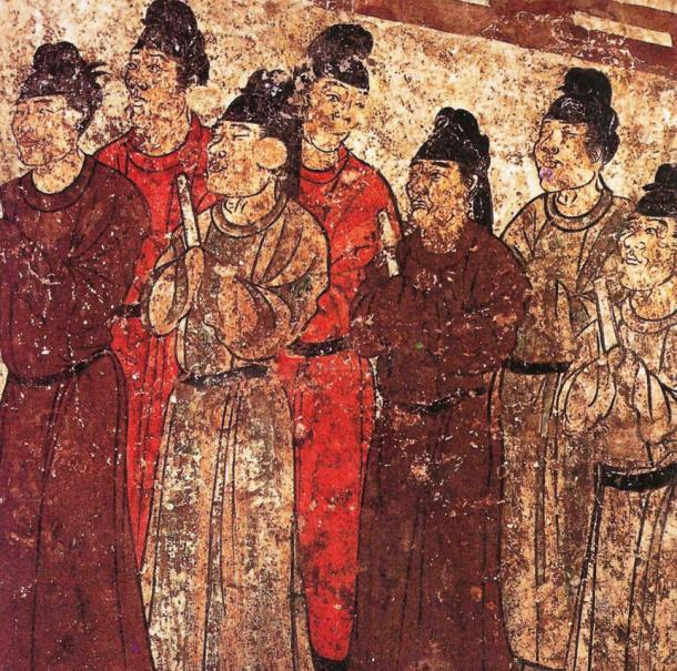 Chinese Eunuchs were the only males permitted in the harem