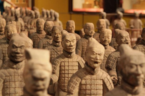 Chinese Terracotta warriors. (CC0)