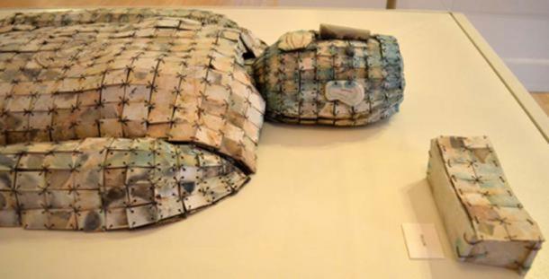 Chinese jade burial suit.