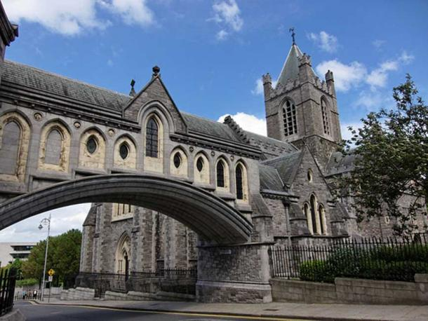 Christ Church Cathedral. Dublin, Ireland.