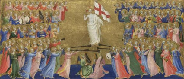 Christ Glorified in the Court of Heaven by Fra Angelico (Public Domain)