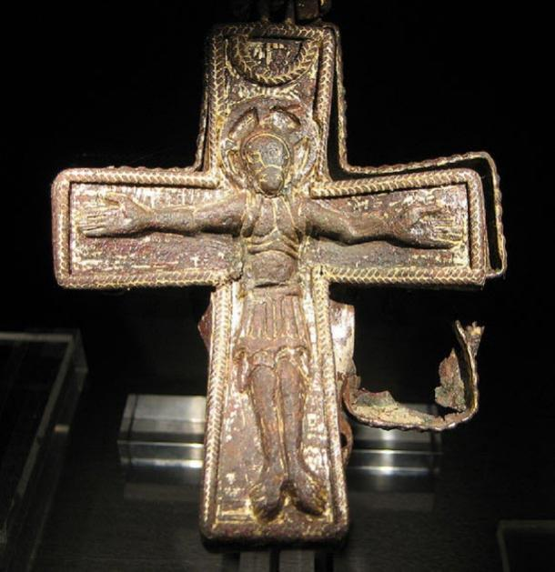 A Christian cross from the Viking Age. Found in Uppåkra, near Lund, Sweden (CC by SA 3.0)