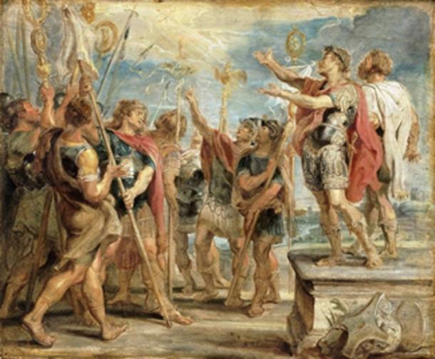 Christians in the Rome era. (Trzęsacz / Public Domain)