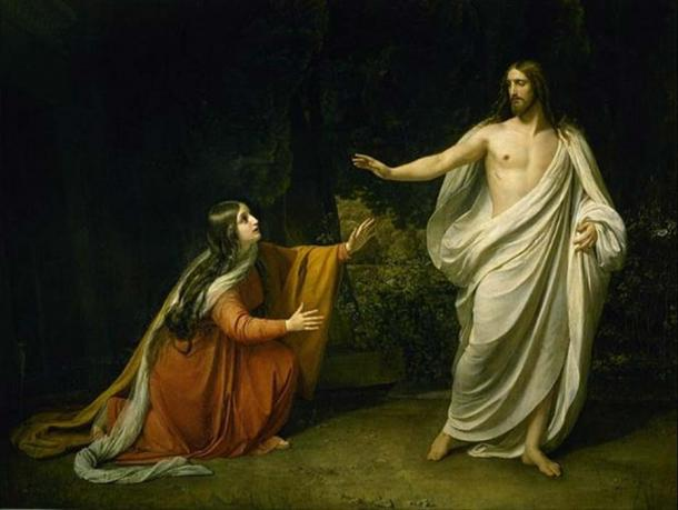 'Christ's Appearance to Mary Magdalene after the Resurrection' (1835) by Alexander Andreyevich Ivanov.