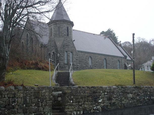 Church of Cashel, Co. Galway, Ireland.