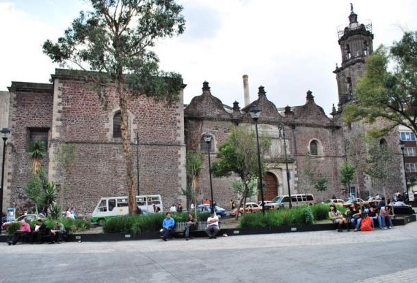 Church of Jesus Nazareno, Mexico City, Mexico.