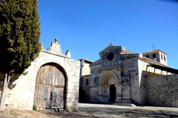 The Church of Santa Maria, Wamba, Spain.