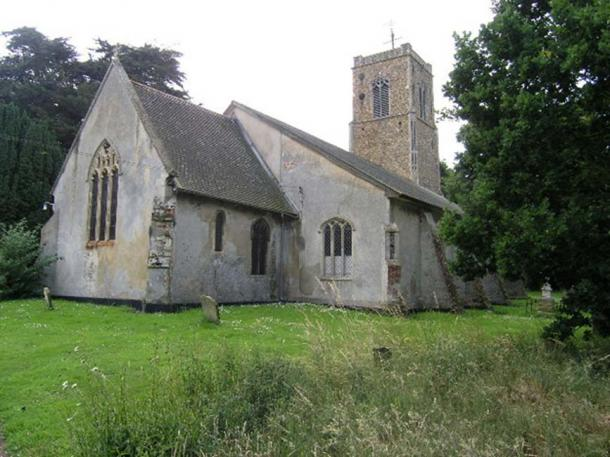 Church of St Peter in Wenhaston, Suffolk, England