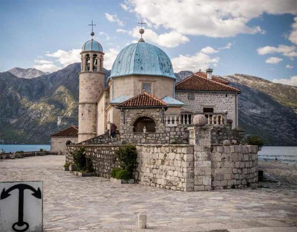 Church of Our Lady of the Rocks, Perast, Montenegro.  (radzonimo / Adobe Stock)