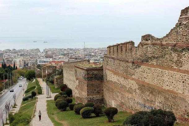 City wall from the time of the Ottoman-Venetian Wars in present-day Thessaoloniki, Greece. (Julian Nyča / CC BY-SA 3.0)