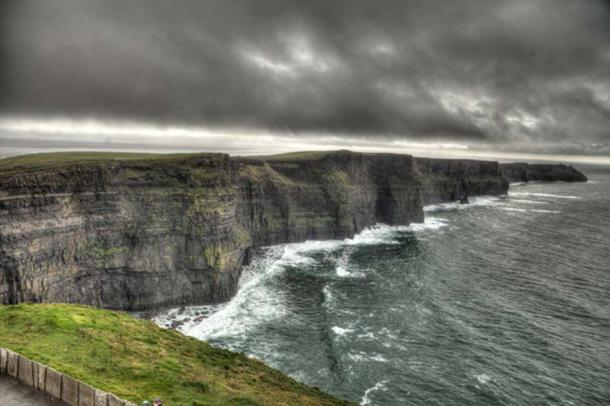 Cliffs of Moher south of the O'Brien Tower. (Image credit: Ioannis Syrigos)