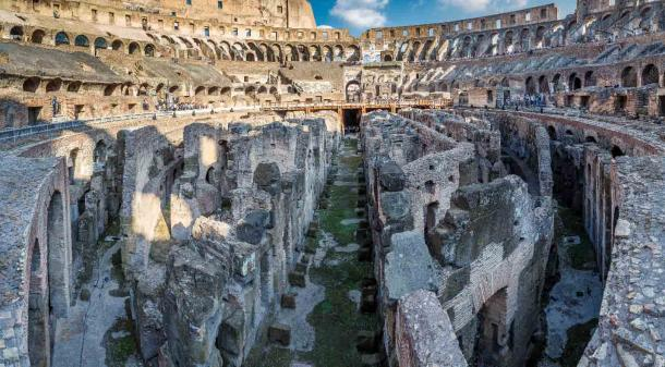 A close up of the Colosseum's lower chambers that will also be renovated as part of the high-tech Colosseum project. (vredaktor / Adobe Stock)