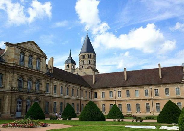 Cluny Abbey (or Cluni, or Clugny) is a Benedictine monastery in Cluny, Saône-et-Loire, built in Romanesque style