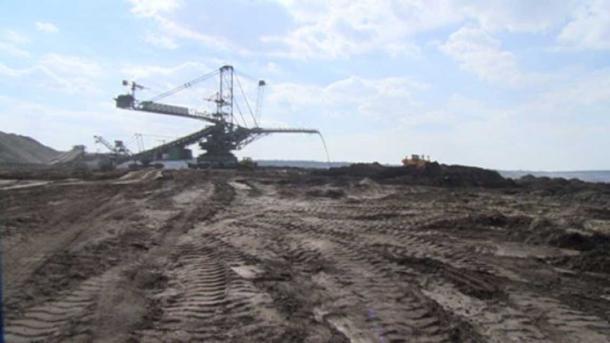 Coal mine in Bełchatów.