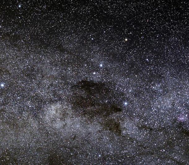 The Coalsack nebula.